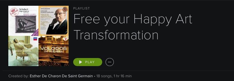 playlist Free your Happy Art Transformation